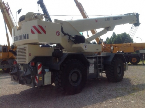 Two used rough-terrain crane sold to a Libyan customer