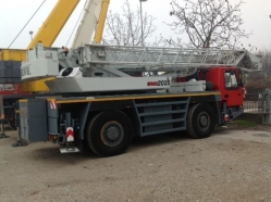 GMK 2035 35 tons capacity 2002 sold to an Italian customer