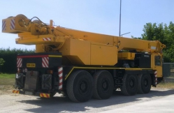Liebherr LTM 1060 60 ton capacity year 1987 sold to Egyptian customer
