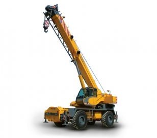Rough-terrain cranes